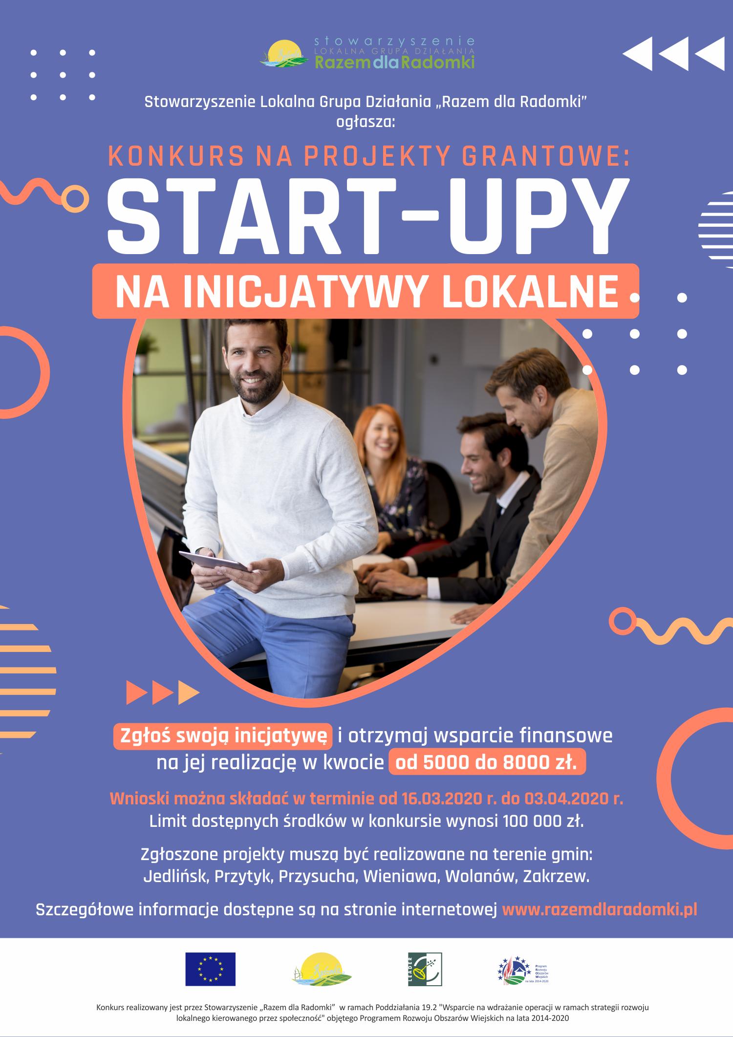 Start-UP na inicjatywy lokalne