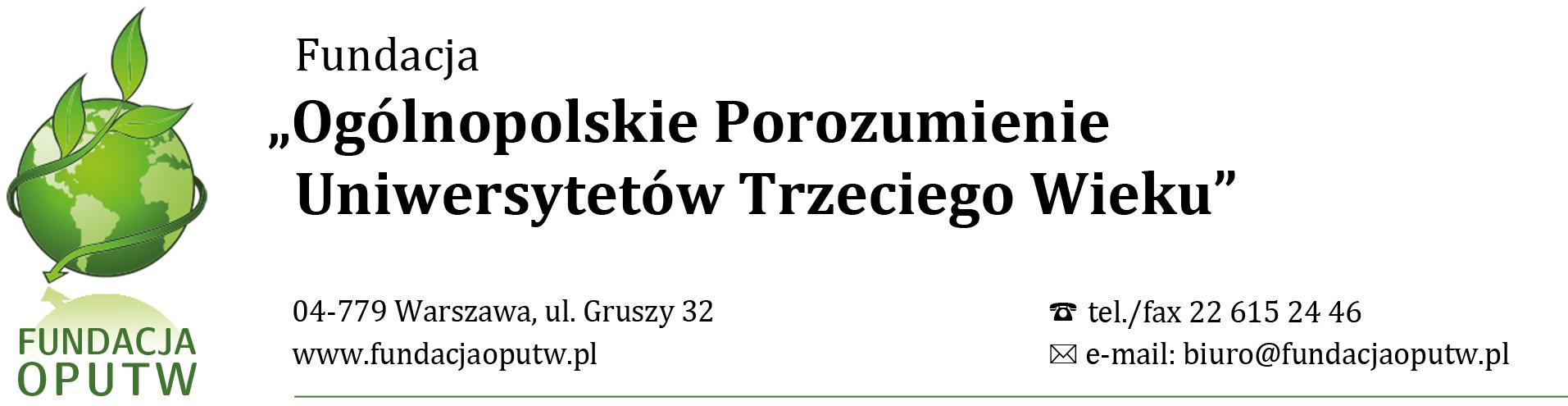 Ogólnopolskie Porozumienie Uniwersytetów Trzeciego Wieku.