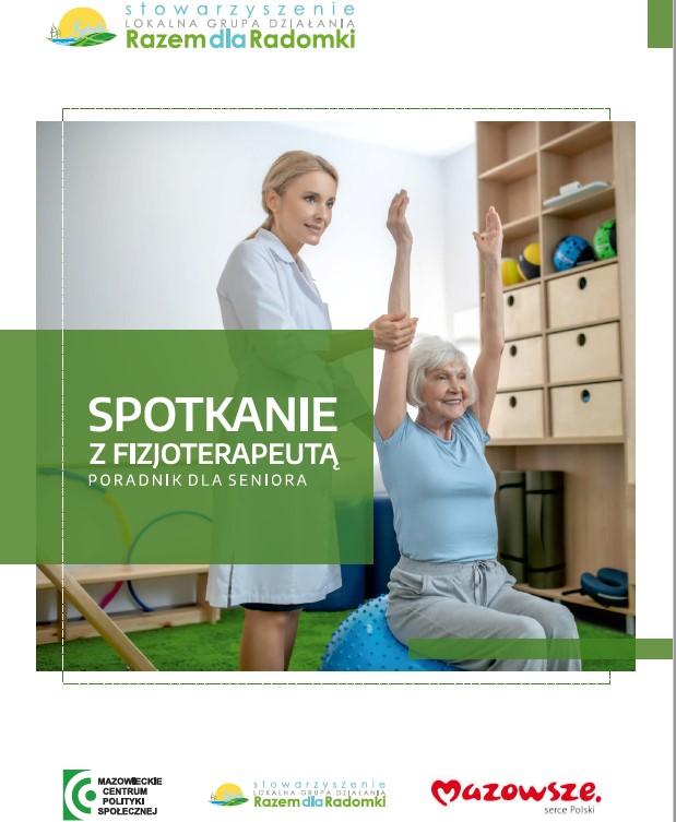 """E-book """"Spotkanie z Fizjoterapeutą - Poradnik dla Seniora"""""""
