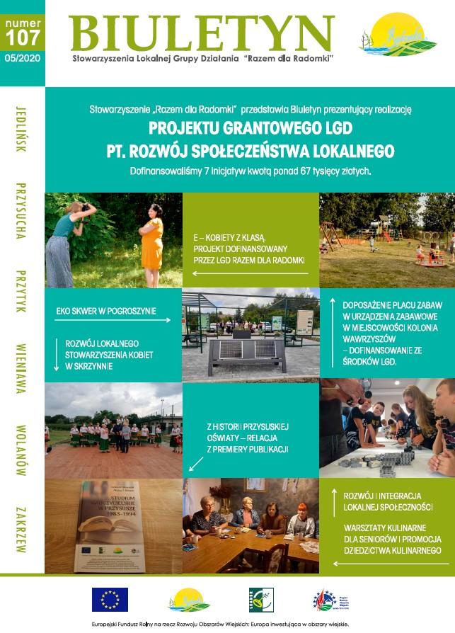 107 Biuletyn Stowarzyszenia Razem dla Radomki